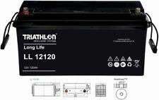 12V 120Ah TRIATHLON AGM Longlifebatterie