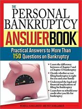 The Personal Bankruptcy Answer Book: Practical Answers to More than-ExLibrary