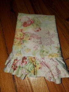 Ralph Lauren SHELTER ISLAND One (1) STANDARD Ruffled Pillowcase - EUC