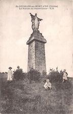 R263347 St. Germain au Mont d Or. Rhone. La Statue du Sacre Coeur. B and G. Lyon