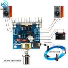 Amplificador de audio TDA7297 Versión B DC 9-15V 15W * 2 módulo