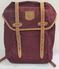 Fjallraven Rucksack No.21 Daypack, Backpack, Dark Garnet, Red, Small