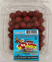 """ALAMO CANDY """"CHERRY BOMBS"""" SWEET & SOUR WITH CHILI """"CHEWY"""" 8 OZ + FREE SHIPPING"""