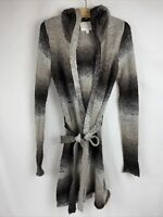 Olive and Oak Womens Long Cardigan Knit SweaterSize Large