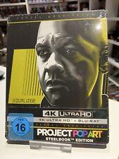 The Equalizer - SteelBook PopArt - 4K Ultra HD + 2D Blu-Ray NEU/OVP