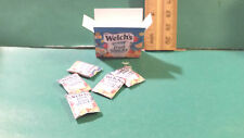 Barbie 1:6 Kitchen Food Miniature Box Welch's Fruit Snacks