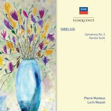 Lorin Maazel, Pierre - Sibelius: Symphony No 2 / Karelia Suite [New CD]