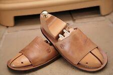Timberland uomo in pelle colore Sandali infradito scarpe taglia UK 8