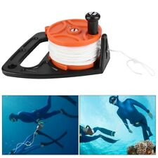 46m 150FT Snorkeling Reel Scuba Dive Reel Cave Traction Rope Diving Accessories