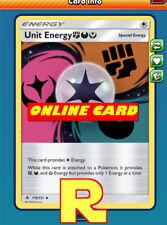 4x Unit Energy (FDF) - for Pokemon TCG Online ( DIGITAL ptcgo in Game Card)