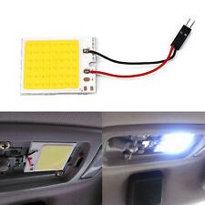 blanco 48 smd COB LED T10 4w 12v Interior Coche Luz Del Panel Cúpula lectura