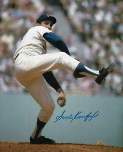 Sandy Koufax Autographed Signed 8x10 Photo MLB HOF Pitcher LA Dodgers - REPRINT