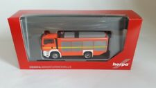 HERPA 091077-002 - 1/87 MAN TGS M EURO 6 RÜSTWAGEN RW2 - LEUCHTROT - FEUERWEHR