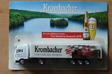 MODEL TRUCK BEER LORRY BEER TRUCK MAN Krombacher RTL Formula 1 HS 16