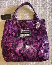 NWT GUESS by Marciano Womens Wild Kingdom Berry Md Tote Shopper Handbag Purse