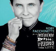 ROBY FACCHINETTI - INSEGUENDO LA MIA MUSICA LIVE - 3CD NUOVO SIGILLATO 2020