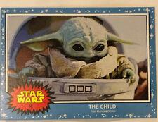 TOPPS STAR WARS LIVING SET- THE CHILD BABY YODA Mandalorian #58 Limited