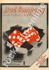 Bad Company Straight Shooter ILPS 9304 MM5 LP Advert 1975