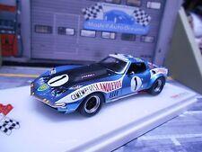 CHEVROLET Corvette C3 Le Mans 1971 #1 Leopard BP Mammouth Lanque Resin TSM 1:43
