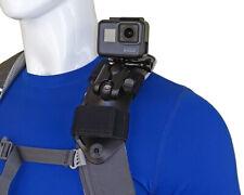 STUNTMAN Pack Mount - Backpack Shoulder Strap Mount for GoPro and Other Cameras