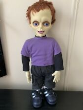 """2004 Spencers Seed Of Chucky Glen Doll Life Size 24"""" Horror Collectible"""