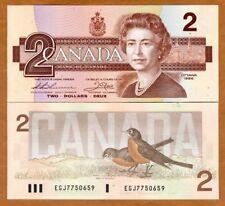 Canada, $2, 1986, P-94b, QEII, UNC
