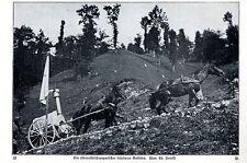 Fahrbarer Backofen der k.u.k.Truppen Historische Aufnahme von 1915