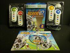 Scene It Lights, Camera, Action (Microsoft Xbox 360, 2007) Complete Boxed