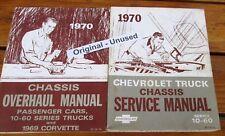 1970 Chevrolet Pick-Up, Suburban, Blazer,Truck Service Manuals, ORIGINAL UNUSED