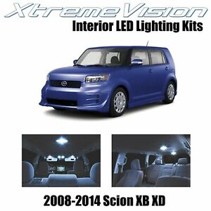XtremeVision LED for Scion XB XD 2008-2014 (12 Pieces) Cool White Premium Interi
