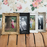 Ornate Swept Shabby Chic Vintage Antique Style 8x6 Photo Frames by Sixtrees