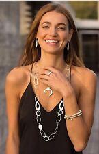 "❤️Silpada ""Brio Stretch Bracelet"" Sterling Silver Italian Made Coil Style B3208"