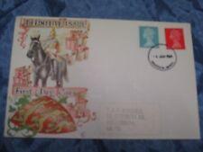 Briefmarken , Ersttagsbrief , 6. Januar 1969 , Windsor / GB