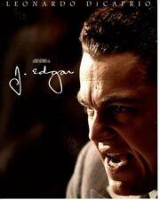 LEONARDO DICAPRIO signed autographed CLINT EASTWOOD'S J. EDGAR HOOVER photo