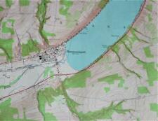 HAMMONDSPORT NEW YORK QUADRANT TOPOGRAPHIC SURVEY MAP 1953 KEUKA LAKE VINTAGE