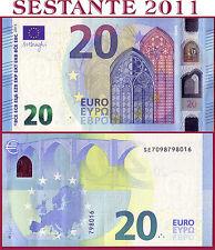 "(com) EUROPEAN UNION  ITALY 20 EURO 2015 Sign DRAGHI  ""SE""  S012G2 - P 22s - UNC"