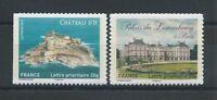 N°722a + 730a - Timbres Autoadhésifs - Châteaux et demeures - 2012