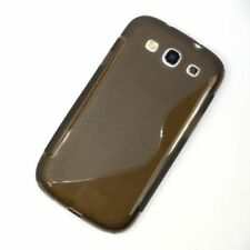 Fundas y carcasas color principal gris de silicona/goma para teléfonos móviles y PDAs Samsung