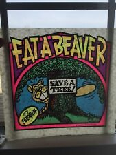 Vintage Eat A Beaver Sexual Iron-On Transfer