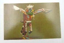 Vintage Eagle Kachina Hopi Doll Postcard (A27)