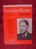 SATURDAY REVIEW May 24 1941 ARTHUR KOESTLER +++