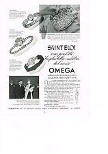 PUBLICITE ADVERTISING   1953   OMEGA  PIERRE GAUTIER créateur montres ANTARES