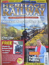 HERITAGE RAILWAY THE COMPLETE STEAM NEWS MAGAZINE ISSUE 163 MAY 10 2012