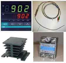 Pid Temperature Controller Fine K Type Thermocouple Sensor Probe Ssr 40a Hs