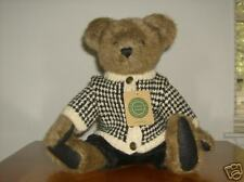 "Boyds Bears 16"" Dressed Plush Bear Rutherford"