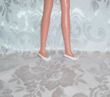 FITS BARBIE SILKSTONE FRANCIE SKIPPER WHITE CT CURVED POINT GENIE JEANNIE SHOES