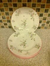 VINTAGE ST MICHAEL MARKS & SPENCER 6 X SIDE/CAKE PLATES MELROSE DESIGN