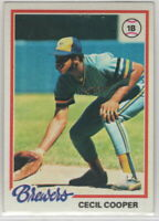 1978 Topps Baseball Milwaukee Brewers Team Set