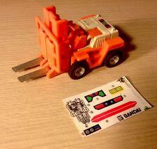 Vintage Gobots Spoons MR34 Bandai 1984 With Stickers Macau Like Transformers
