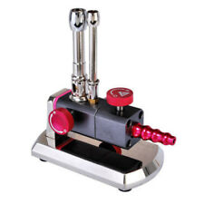 Micro Gas Propane Light Bunsen Burner Double Tube Rotatable Dental Lab Equipment